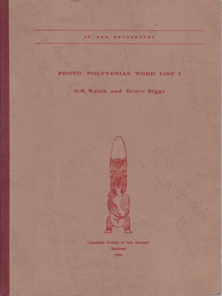 cover image of Proto-Polynesian Word List 1 for sale in New Zealand