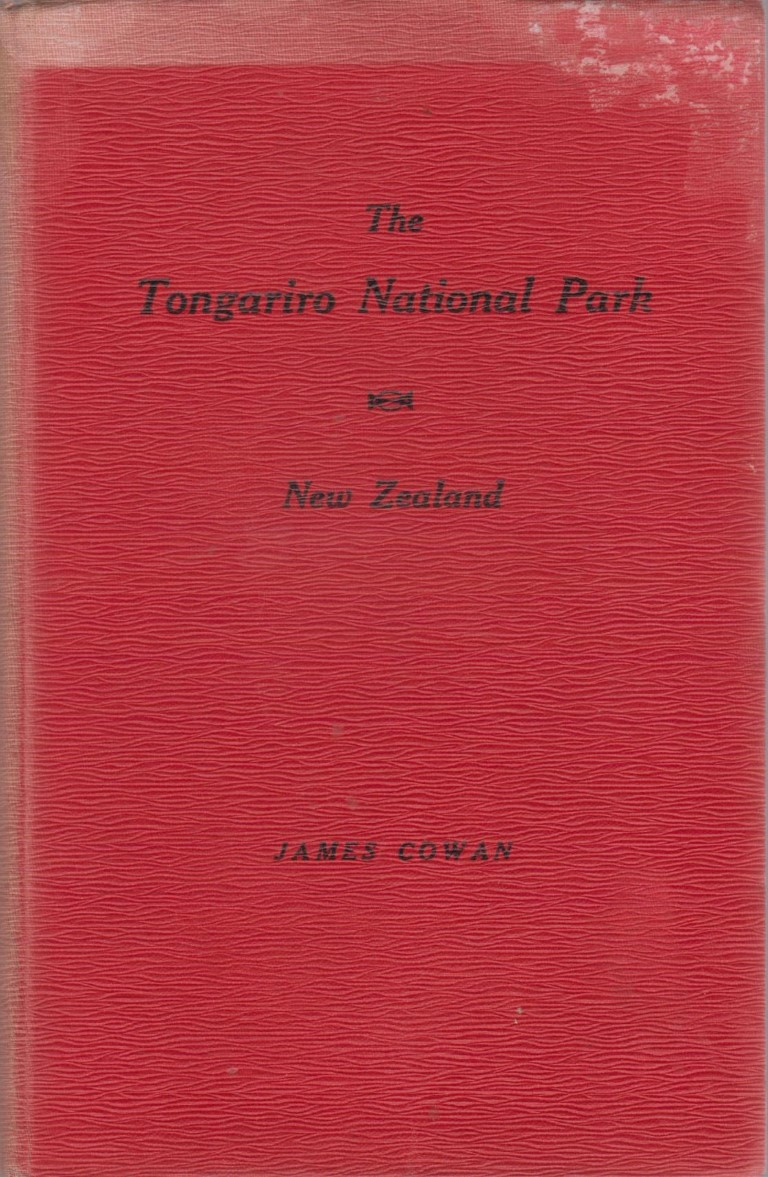 cover image of The Tongariro National Park, New Zealand for sale in New Zealand