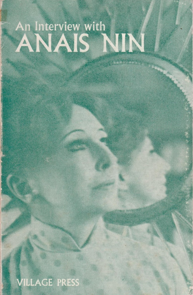 cover image of An Interview with Anais Nin for sale in New Zealand
