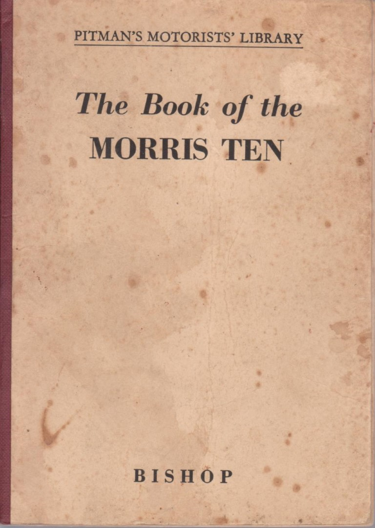 cover image of The Book of the Morris Ten  for sale in New Zealand