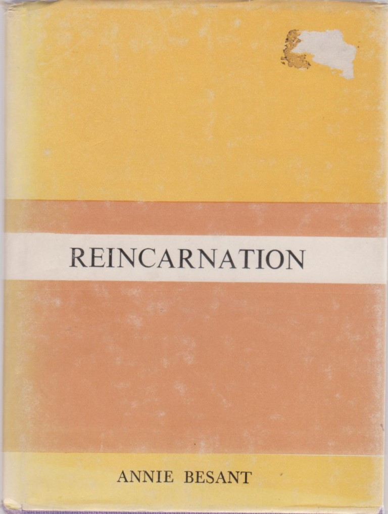 cover image of Reincarnation by Annie Besant, for sale in New Zealand