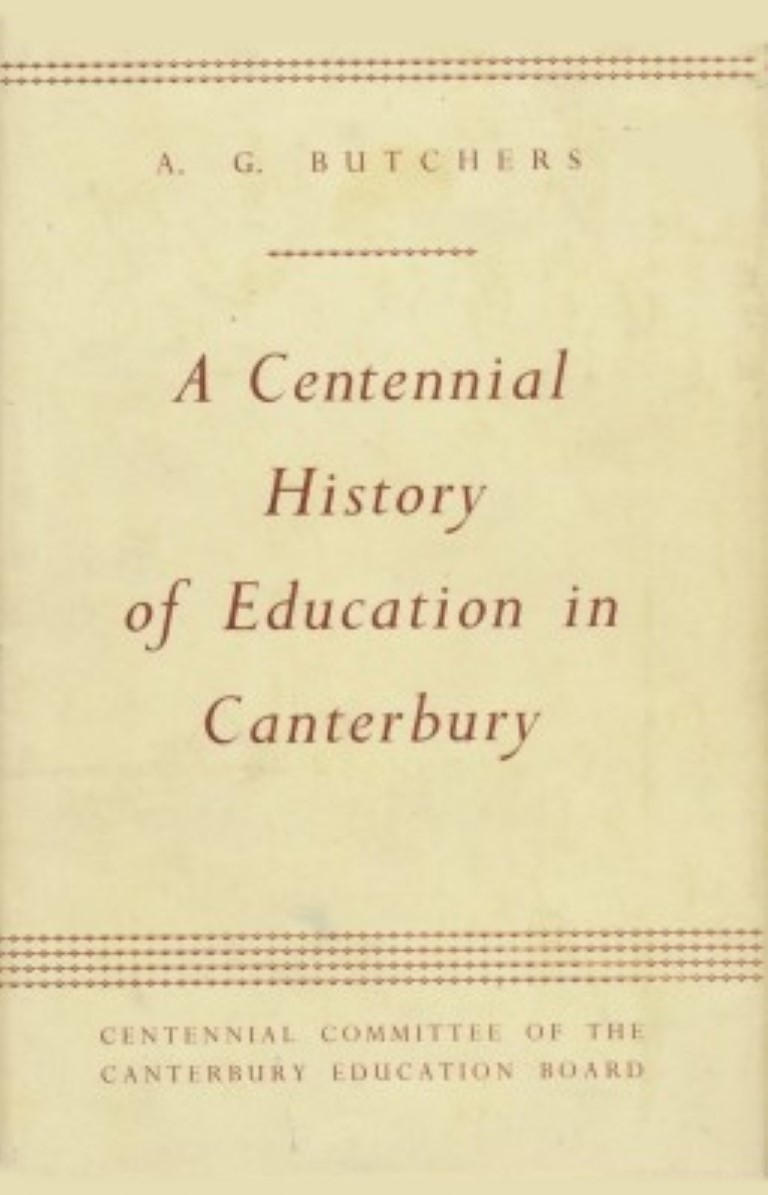 cover image of A Centennial History of Education in Canterbury for sale in New Zealand