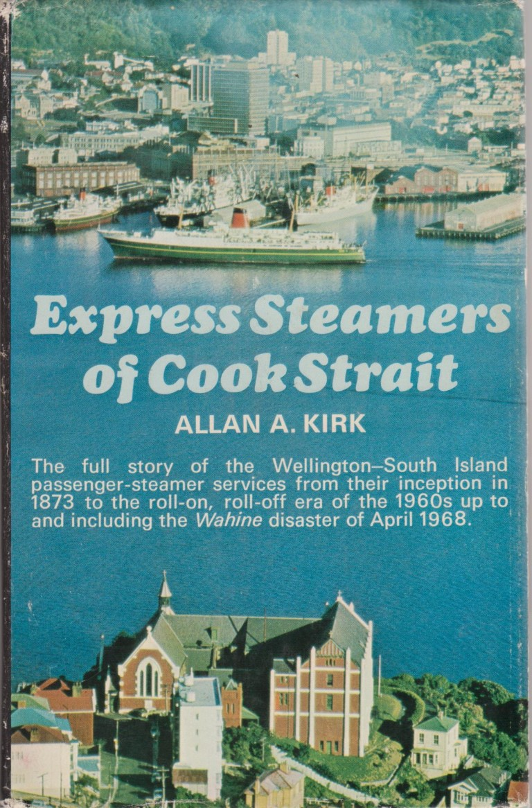 cover image of Express Steamers of Cook Strait for sale in New Zealand
