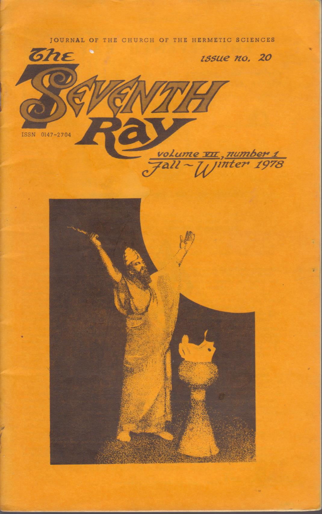cover image of The Seventh Ray Volume VII Number 1 Fall - Winter 1978 for sale in New Zealand