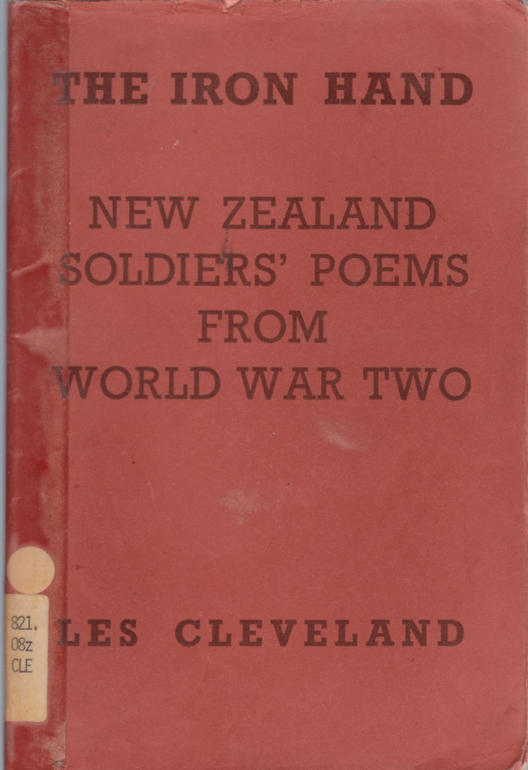 cover image of New Zealand Soldiers Poems from World War Two, for sale in New Zealand