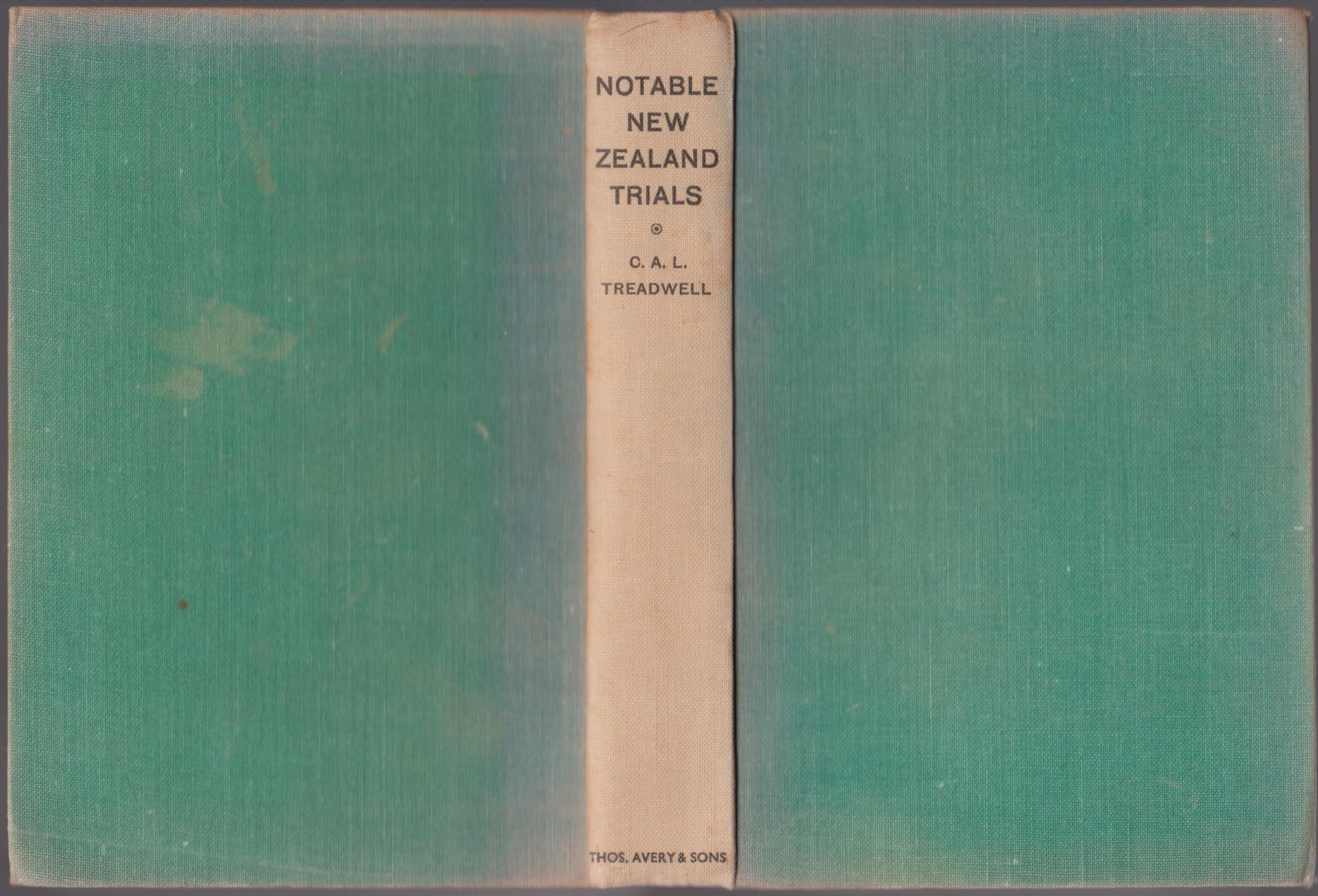 cover image of Notable New Zealand Trials, for sale in New Zealand
