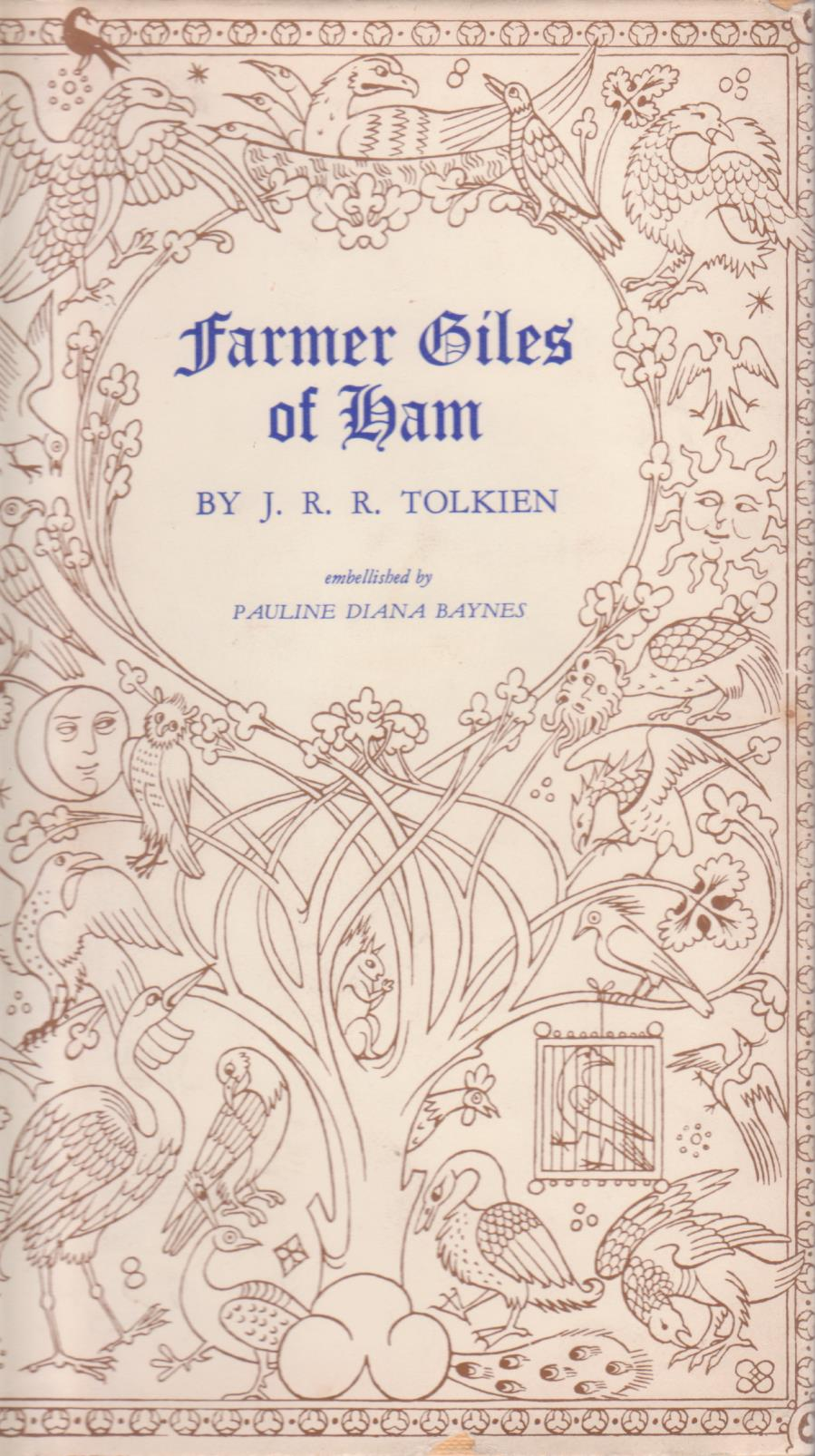 cover image of Farmer Giles Of Ham illustrated by Pauline Baynes, for sale in New Zealand
