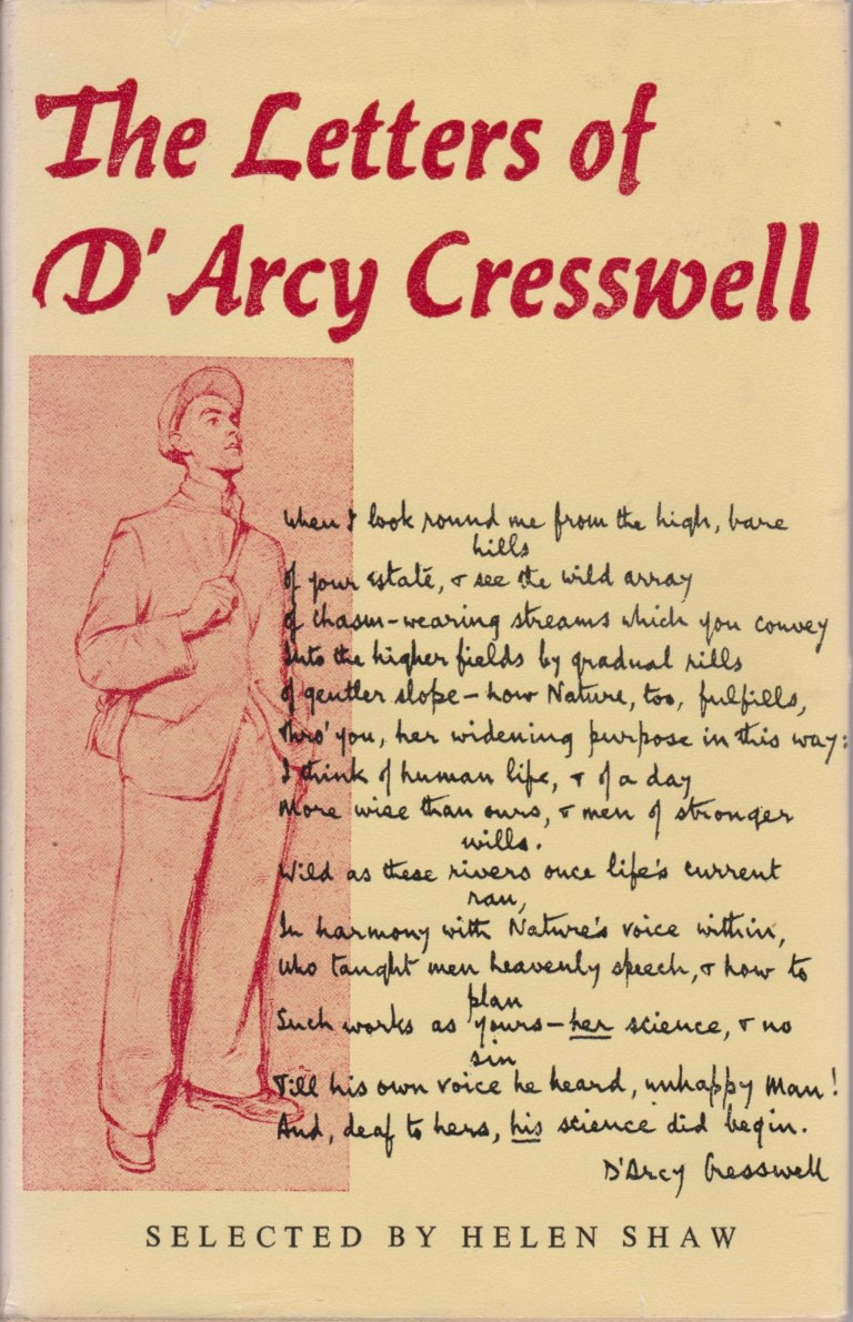 cover image of The Letters of D'Arcy Cresswell, for sale in New Zealand