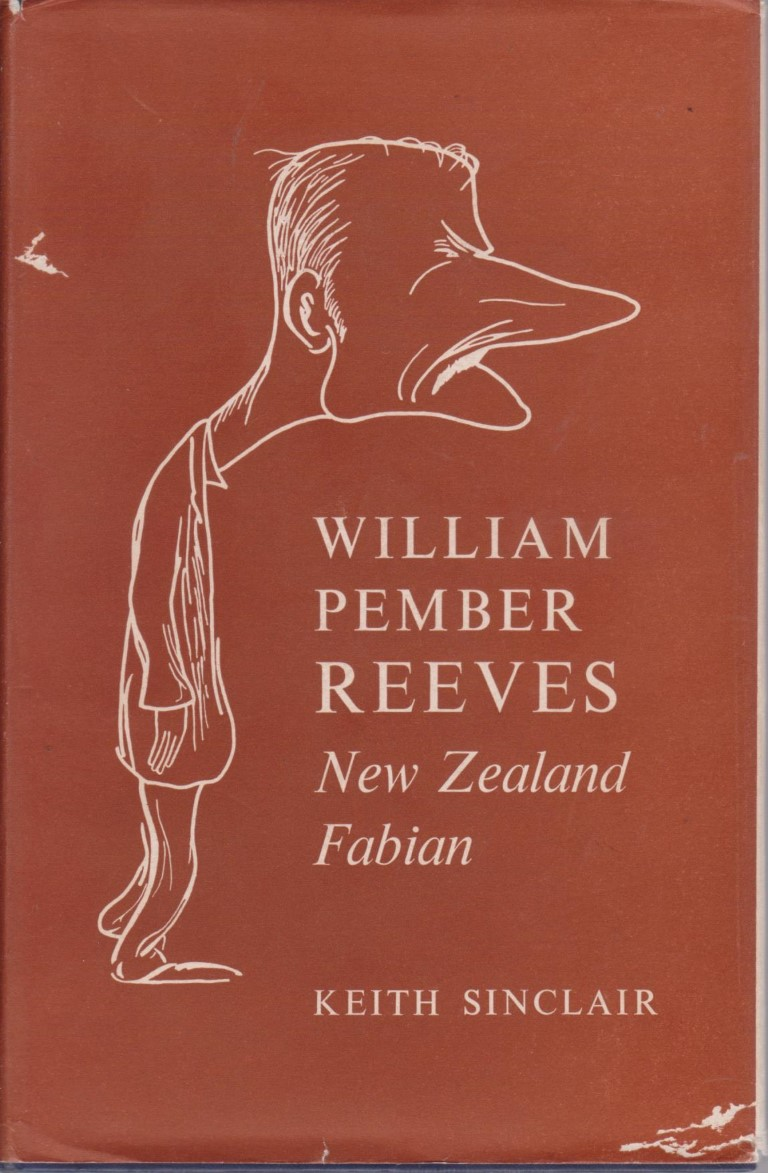 cover image of William Pember Reeves, New Zealand Fabian, for sale in New Zealand