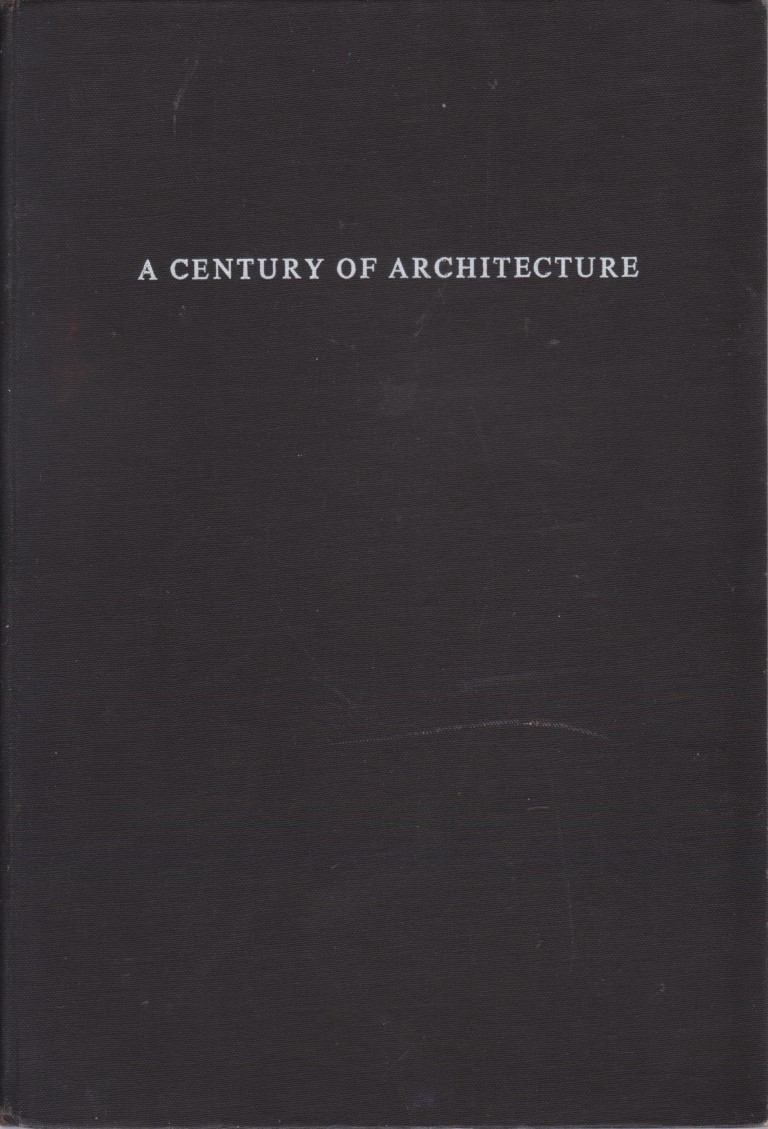 cover image of A Century of Architecture, Collins and Son, for sale in New Zealand