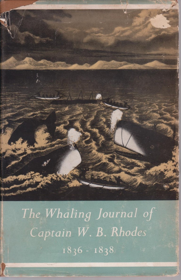 cover image of The Whaling Journal of Captain W.B. Rhodes for sale in New Zealand