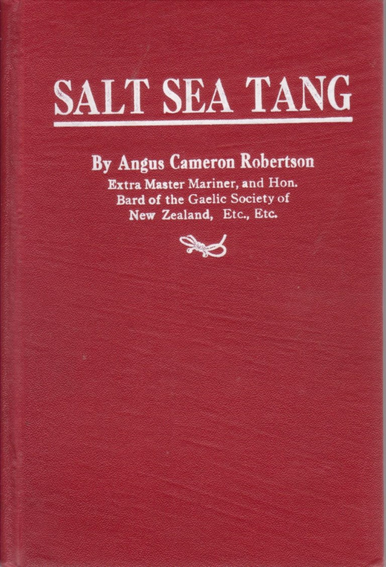 cover image of Salt Sea Tang by Angus Cameron Robertson, for sale in New Zealand