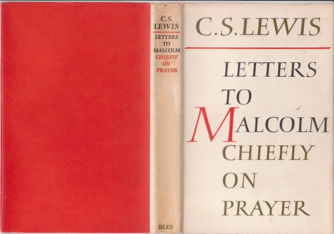 cover image of Letters to Malcolm Chiefly on Prayer, for sale in New Zealand