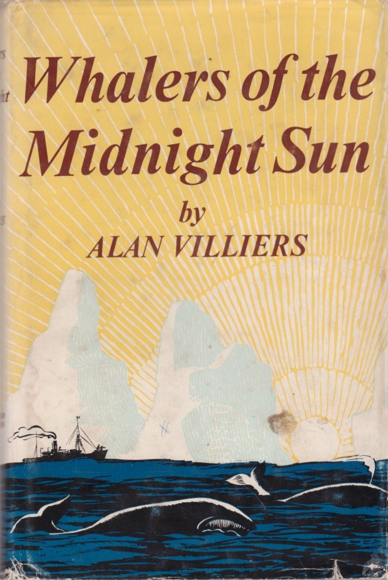 cover image of Whalers of the Midnight Sun, A Story of Modern Whaling in the Antarctic, for sale in New Zealand