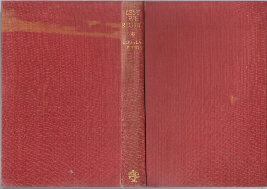 cover image of Lest We Regret by Douglas Reed, for sale in New Zealand