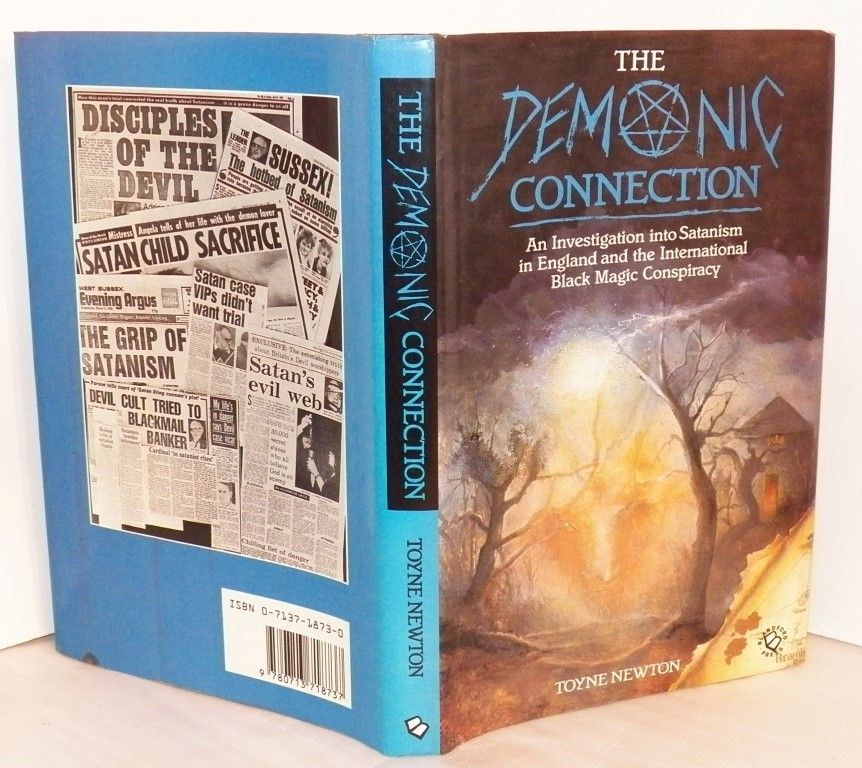 cover image of The Demonic Connection, an Investigation Into Satanism in England and the International Black Magic Conspiracy, for sale in New Zealand