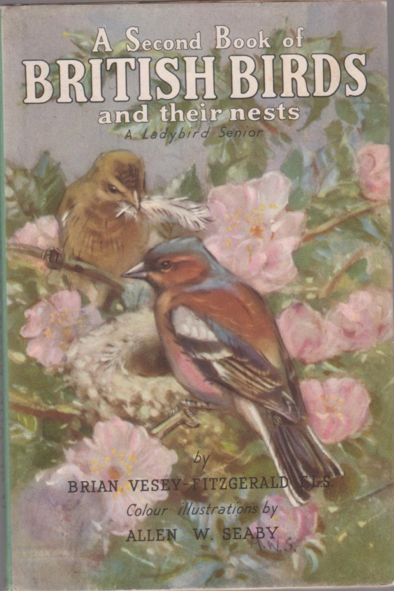 cover image of A Second Book of British Birds and their Nests, for sale in New Zealand
