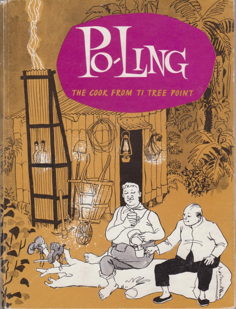 cover image of Po-Ling The Cook from Ti Tree Point, for sale in New Zealand