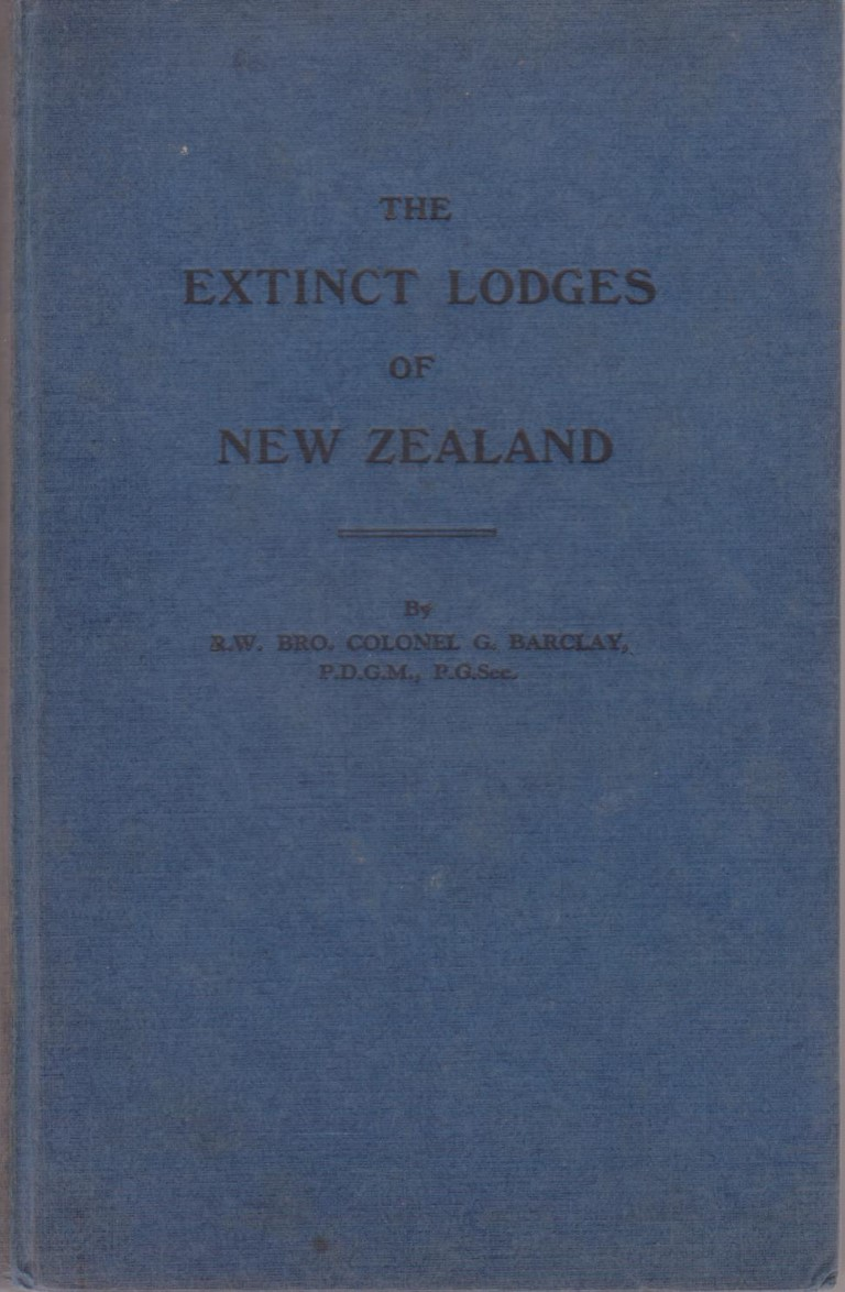 cover image of The Extinct Lodges of New Zealand, for sale in New Zealand
