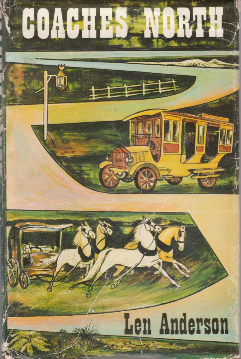 cover image of Coaches North, the Story of the Hawke's Bay Motor Company, for sale in New Zealand