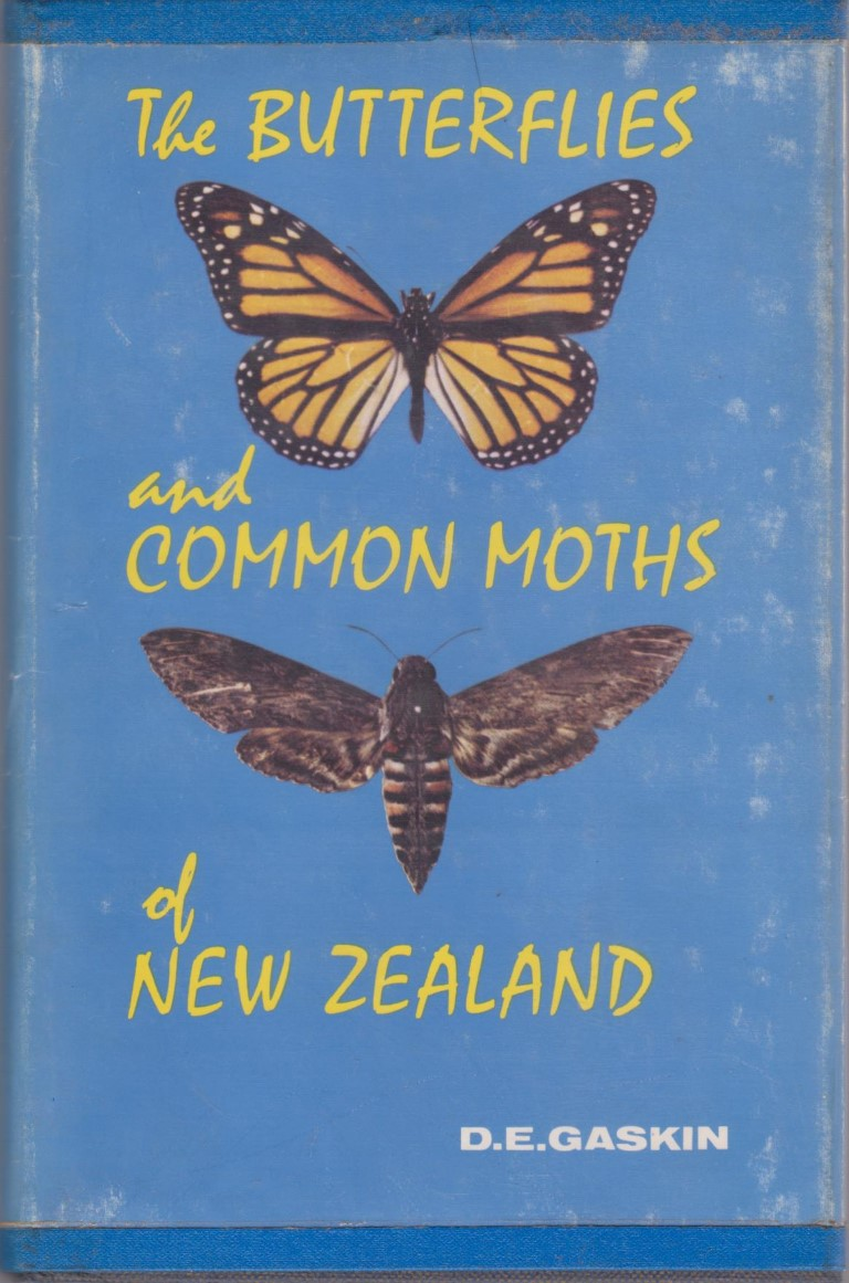 cover image of The Butterflies and Common Moths of New Zealand, for sale in New Zealand
