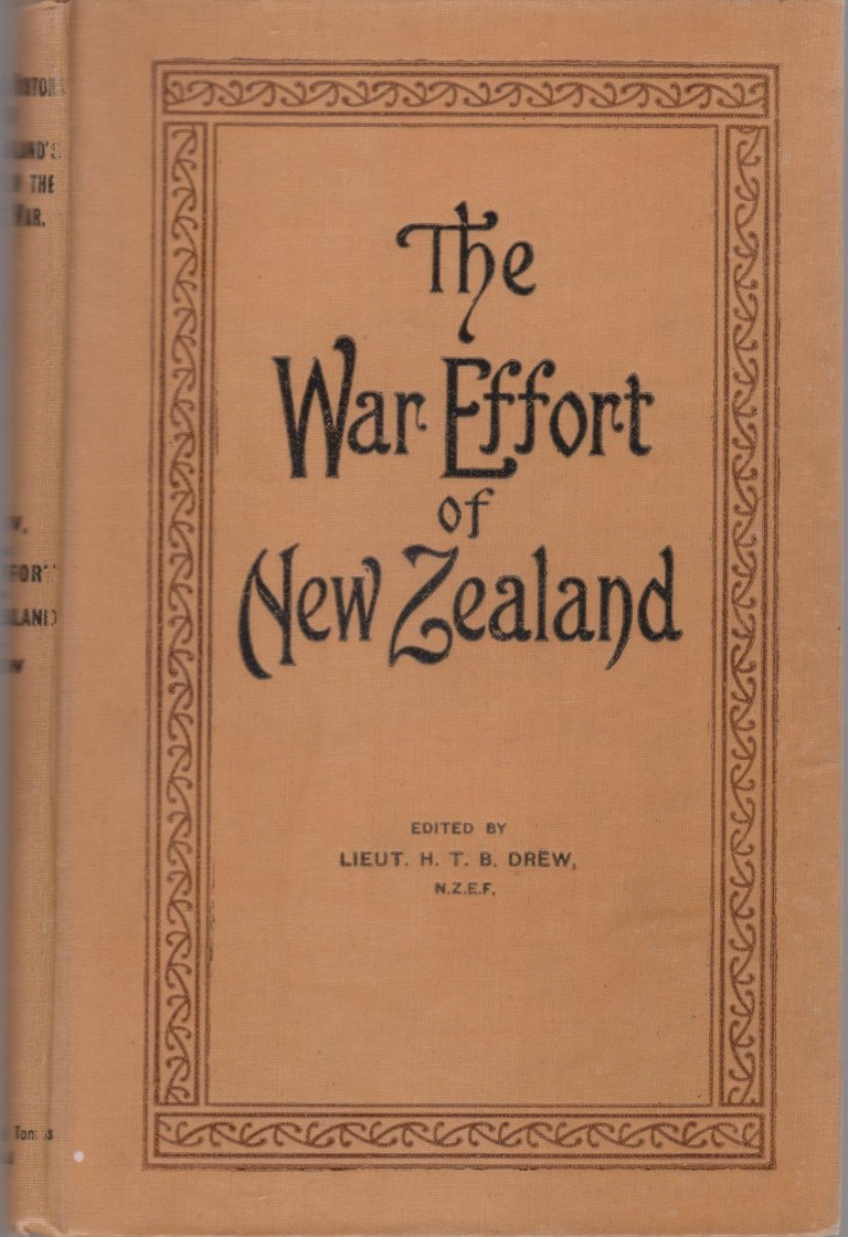 cover image of The War Effort of New Zealand WWI, for sale in New Zealand