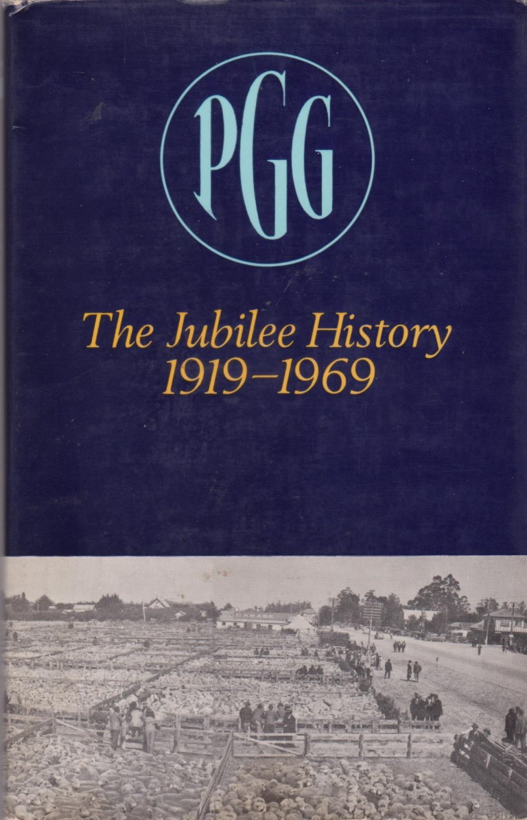 cover image of Pyne Gould Guinness Ltd The Jubilee History 1919-1969, for sale in New Zealand