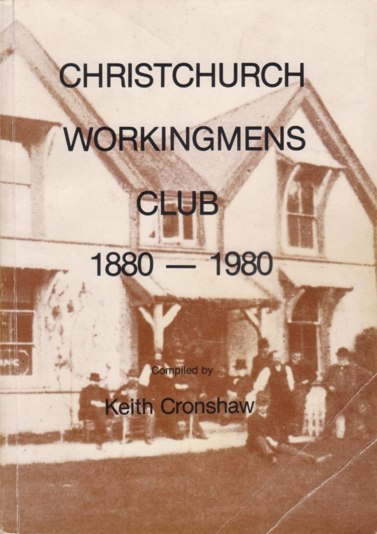 cover image of Christchurch Workingmens Club 1880-1980, for sale in New Zealand