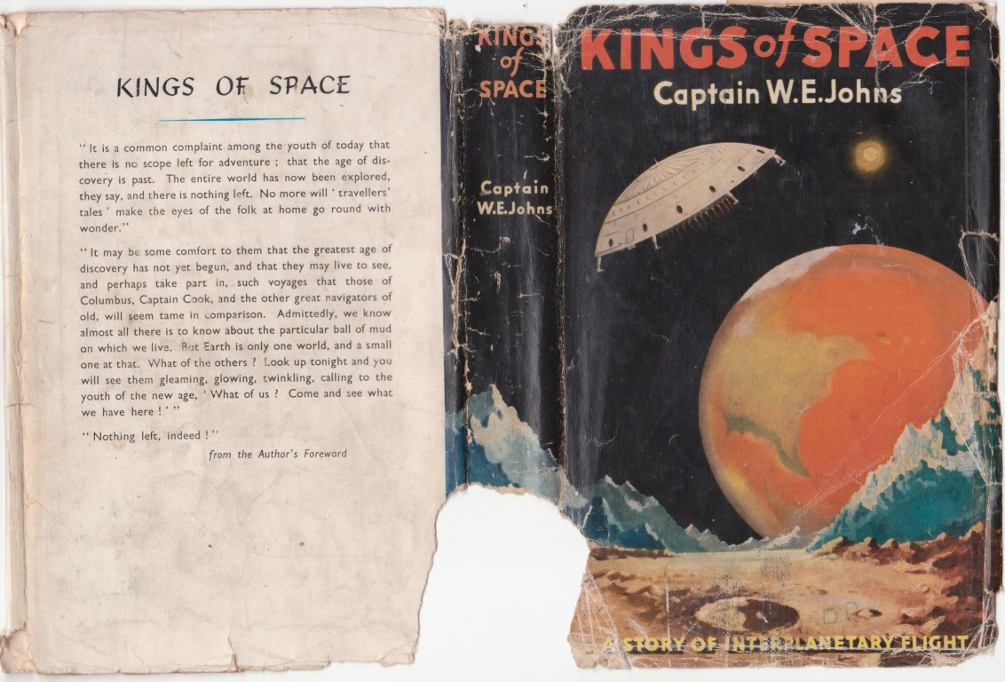 cover image of Kings of Space; a story of interplanetary flight, for sale in New Zealand