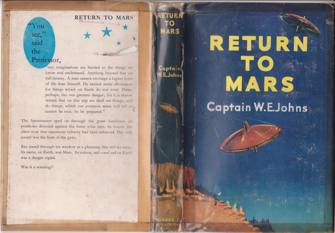 cover image of Return to Mars; a story of interplanetary flight, for sale in New Zealand