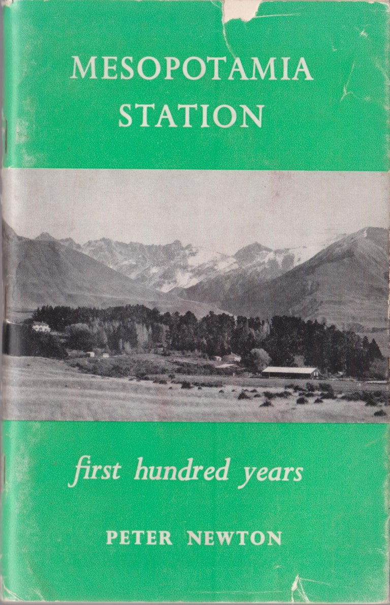 cover image of Mesopotamia Station a survey of the first hundred Years, for sale in New Zealand