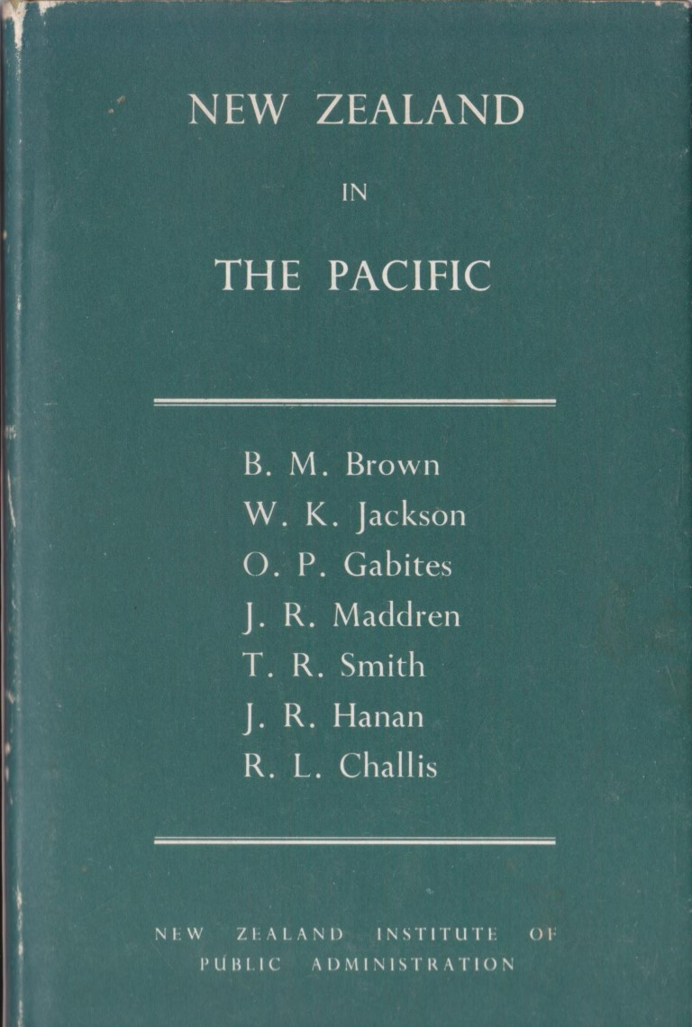 cover image of New Zealand in the Pacific; Studies in Public Administration No 16., for sale in New Zealand