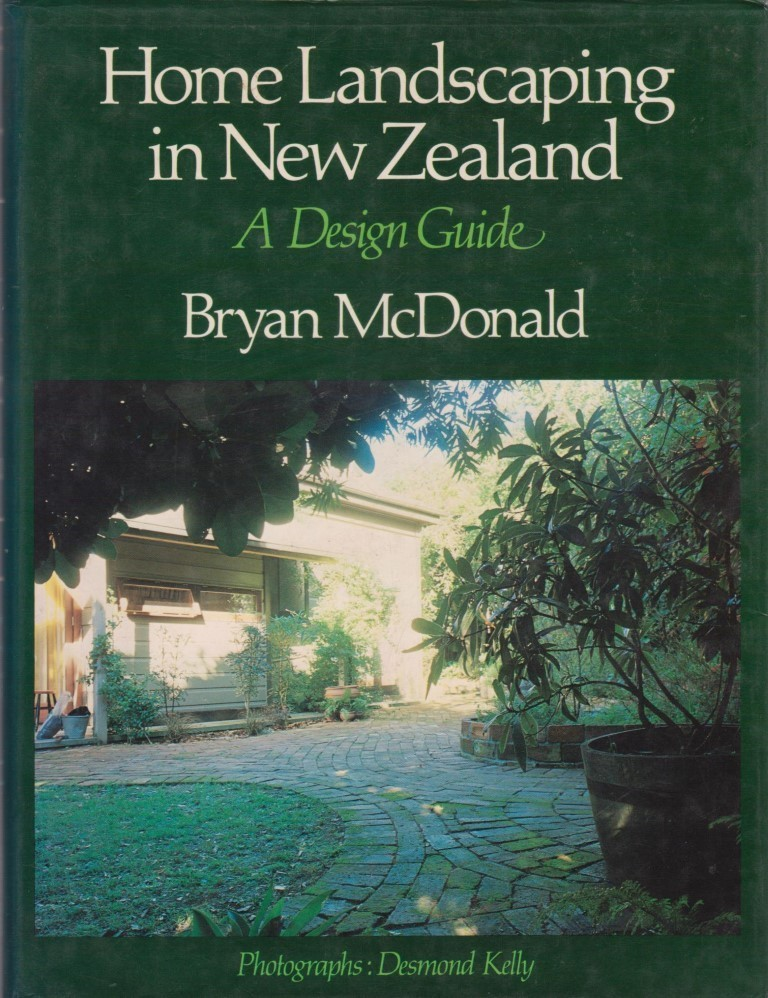 cover image of Home Landscaping in New Zealand a Design Guide for sale in New Zealand