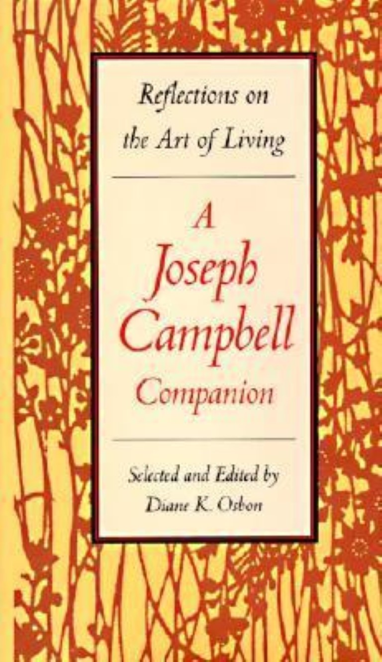 cover image of Reflections on the Art of living; A Joseph Campbell Companion, for sale in New Zealand