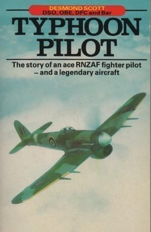 cover image of Typhoon Pilot by Desmond Scott for sale in New Zealand