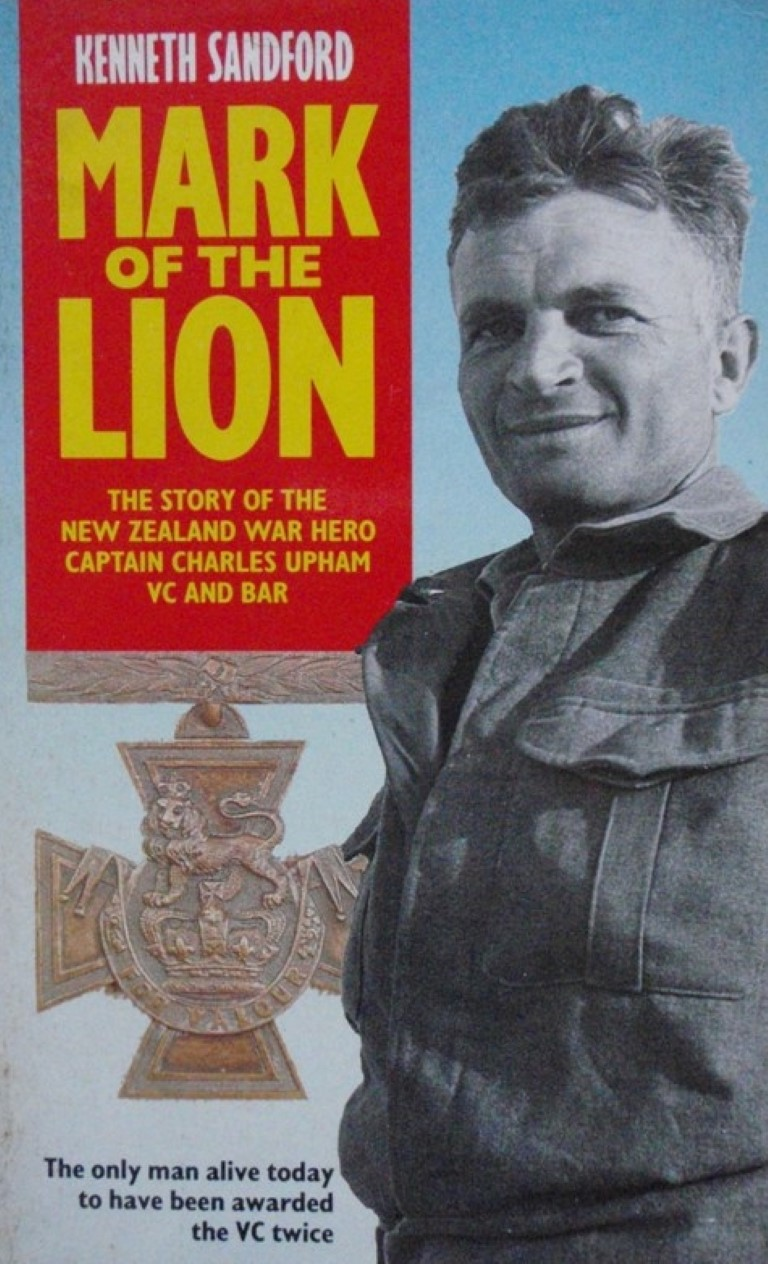 cover image of Mark of the Lion<br>The story of the New Zealand War Hero Captain Charles Hazlitt Upham, V.C. and Bar, for sale in New Zealand