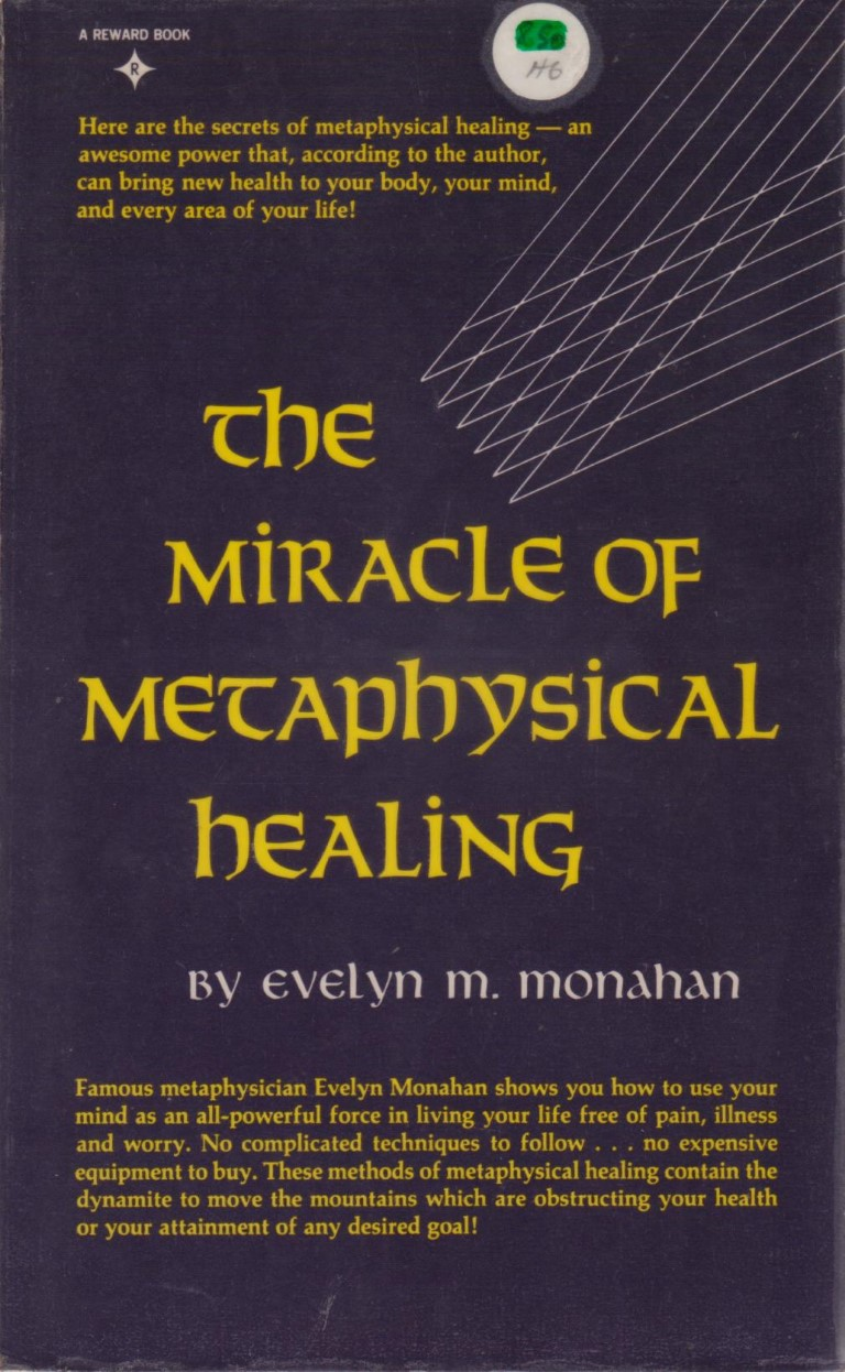 cover image of The Miracle of Metaphysical Healing, for sale in New Zealand