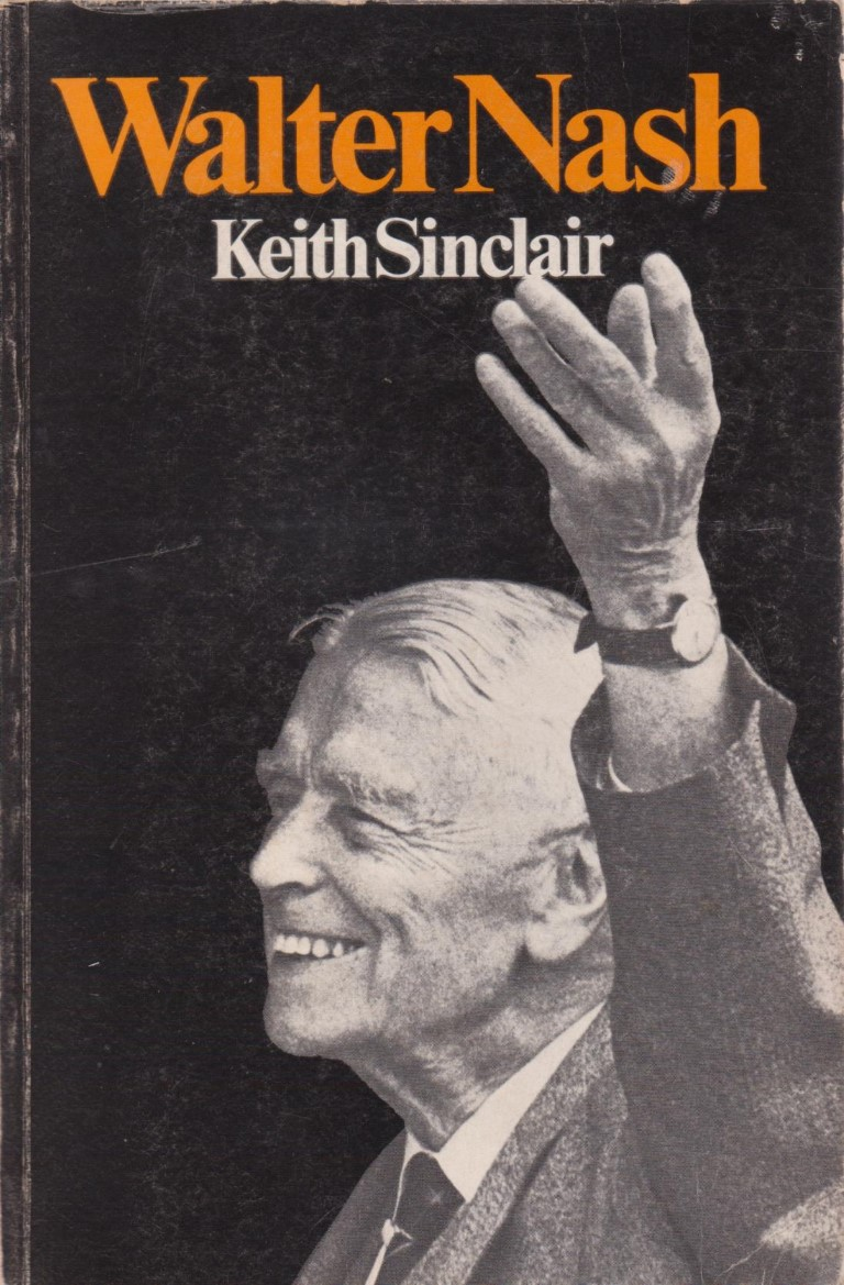 cover image of Walter Nash biography by Keith Sinclair for sale in New Zealand