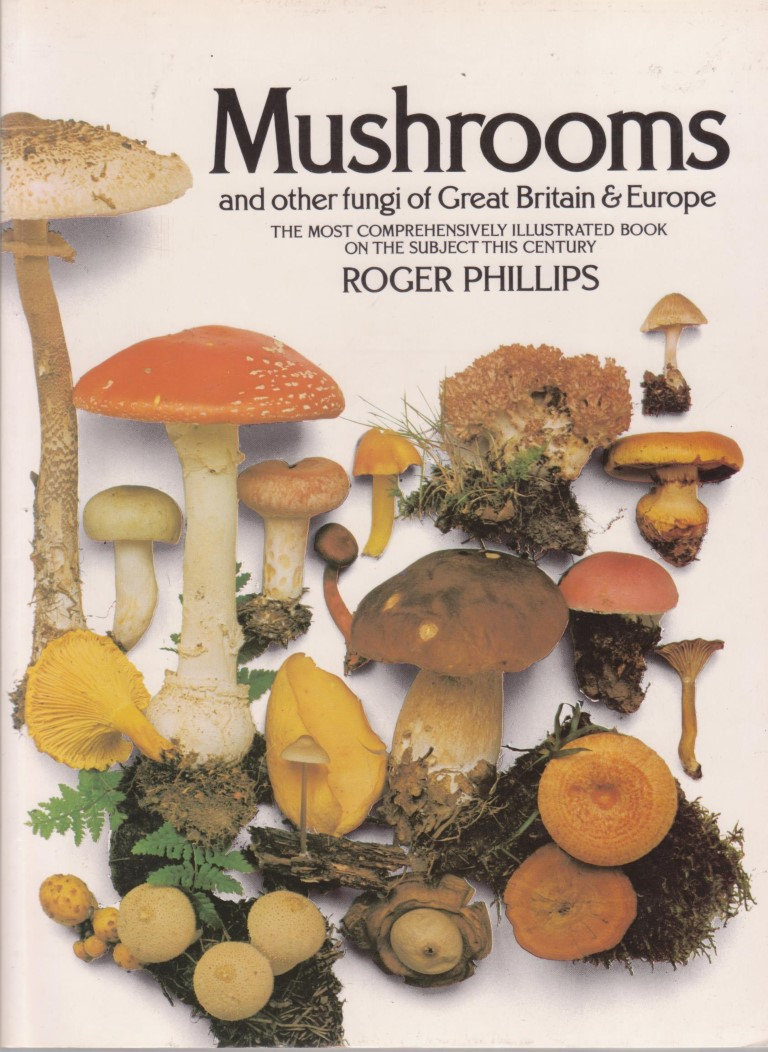 cover image of Mushrooms and Other Fungi of Great Britain and Europe for sale in New Zealand