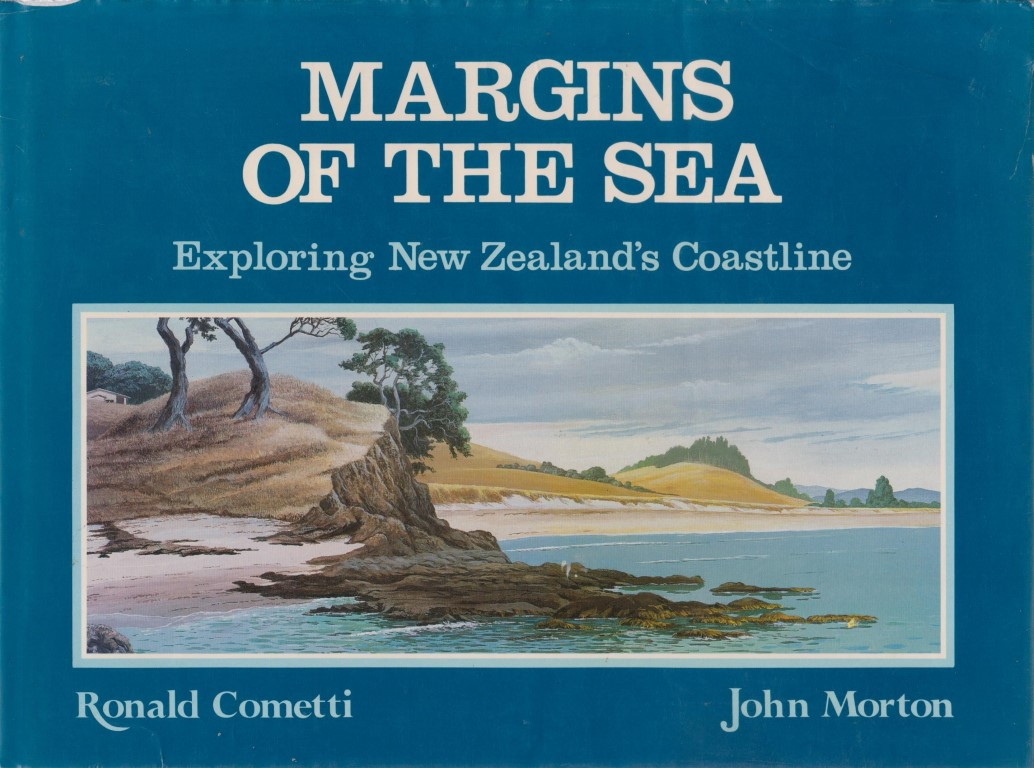 cover image of Margins of the Sea: Exploring New Zealand's coastline for sale in New Zealand