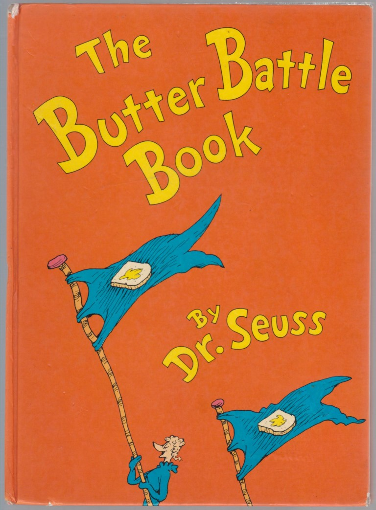 cover image of The Butter Battle Book for sale in New Zealand