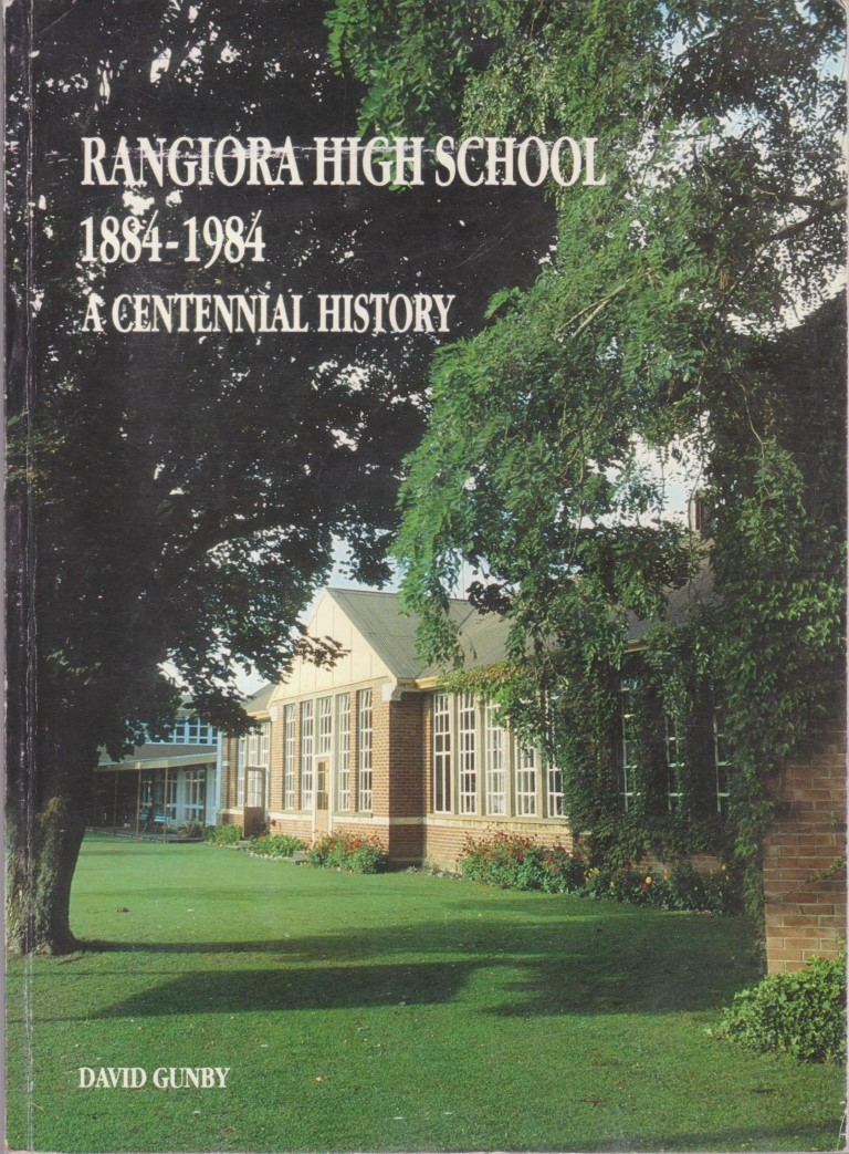 cover image of Rangiora High School 1884-1984: A Centennial History, for sale in New Zealand