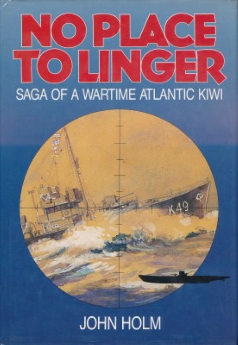 cover image of No Place to Linger : Saga of a Wartime Atlantic Kiwi. for sale in New Zealand