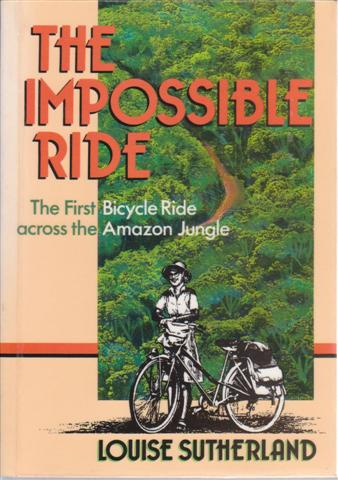 cover image of The Impossible Ride by Louise Sutherland for sale in New Zealand