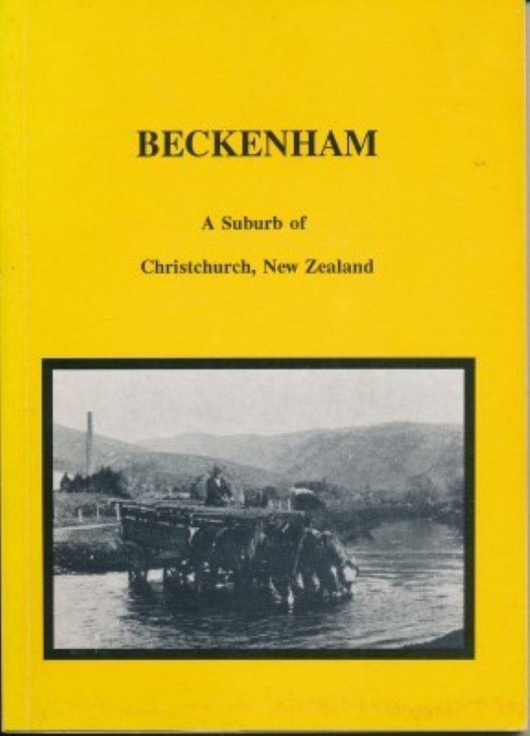 cover image of Beckenham A Suburb of Christchurch, New Zealand,for sale in New Zealand