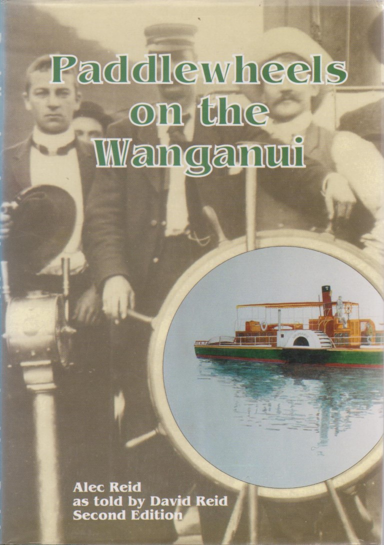 cover image of Paddlewheels on the Wanganui for sale in New Zealand