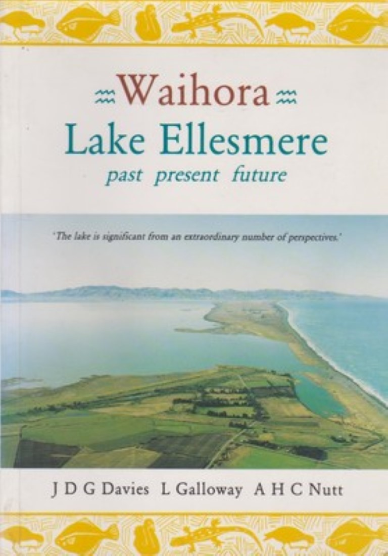 cover image of Waihora, Lake Ellesmere; Past, Present, Future, for sale in New Zealand