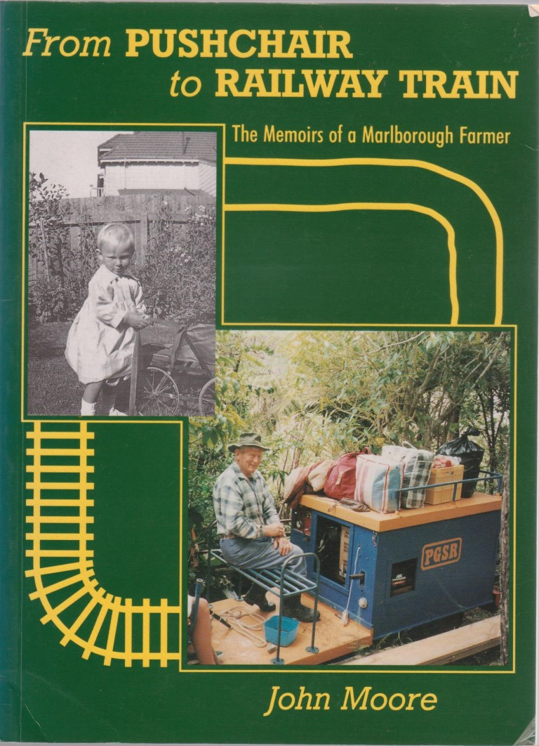 cover image of From Pushchair to Railway Train, The Memoirs of a Marlborough Farmer for sale in New Zealand
