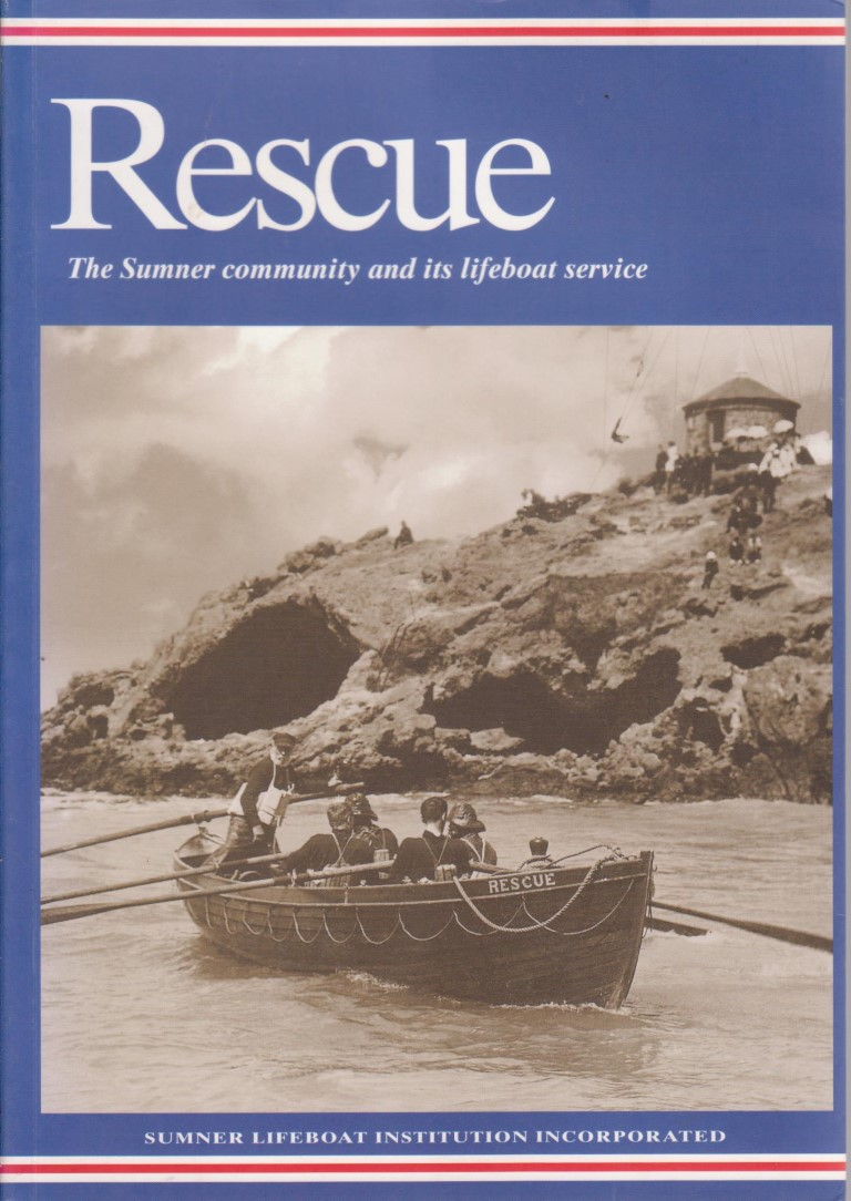 cover image of Rescue, The Sumner community and its lifeboat service., for sale in New Zealand