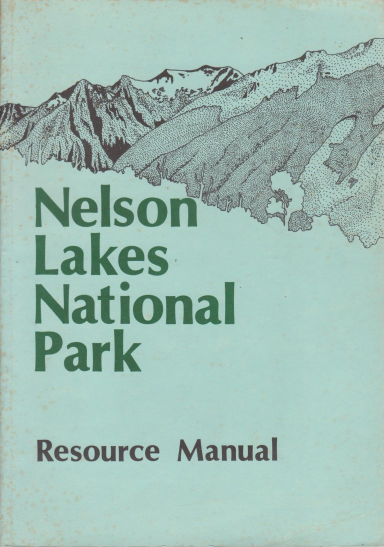 cover image of Nelson Lakes National Park Resource Manual for sale in New Zealand